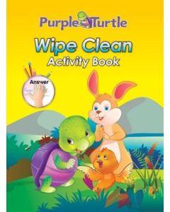 Purple Turtle Wipe & Clean Activity Book