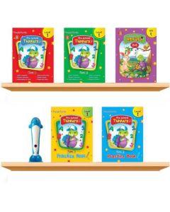 Purple Turtle Smart Preschool Talking Books With Talking Pen For Nursery Kids (Age 2-8 Year)