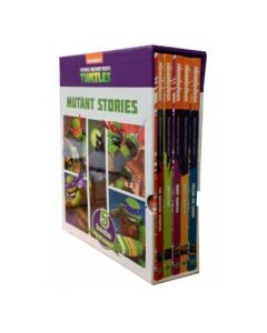 5 Book Slipcase Nickelodeon Teenage Mutant Ninja Turtles Mutant Stories