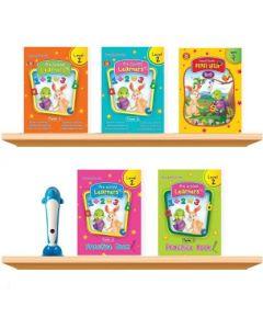 Purple Turtle Smart Speak Preschool Talking Books With Talking Pen For LKG Kids (Age 2-8 Year)