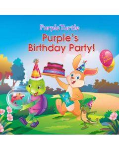 Purple Turtle - Purple's Birthday Party