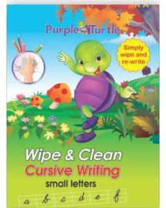 Purple Turtle Wipe & Clean Cursive Writing Capital Letters