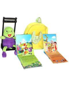 Purple Turtle ptt-001 School Bag  (Purple, 2 L)