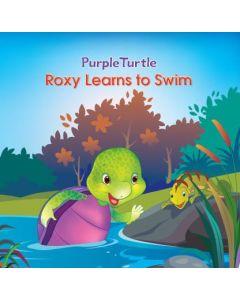 Roxy learn to swim