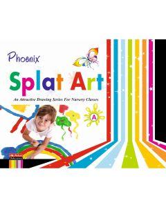 Phoenix Splat Art - A