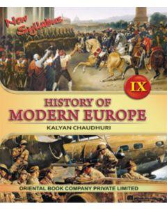 HISTORY OF MODERN EUROPE - IX