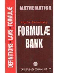 H.S Formula Bank Mathematics