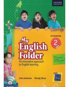 My English Folder Course Book Class - 2