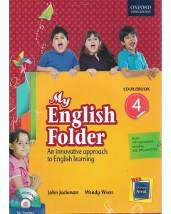 My English Folder Course Book Class - 4