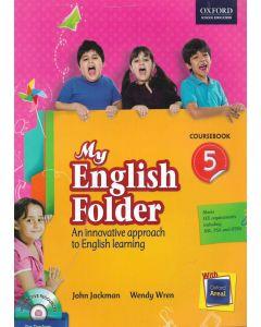 My English Folder Course Book Class - 5