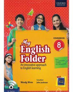 My English Folder Course Book Class - 8