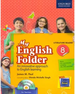 My English Folder Literature Reader Class - 8