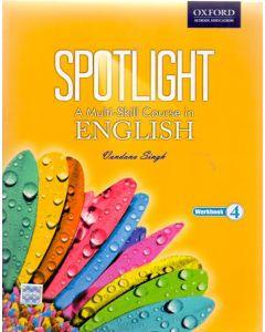 Spotlight A Multi-Skill Course in English Work Book Class - 4