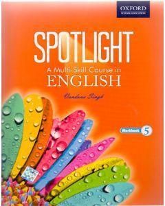 Spotlight A Multi-Skill Course in English Work Book Class - 5