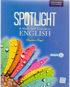 Spotlight A Multi-Skill Course in English Work Book Class - 6