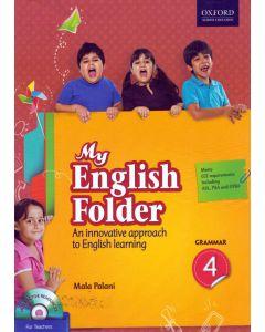 My English Folder Grammar Class - 4