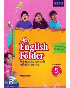 My English Folder Grammar Class - 5