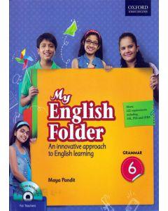 My English Folder Grammar Class - 6