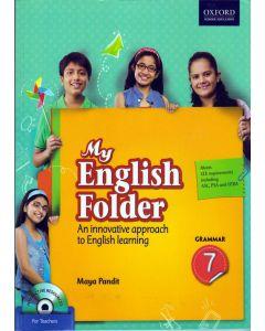 My English Folder Grammar Class - 7