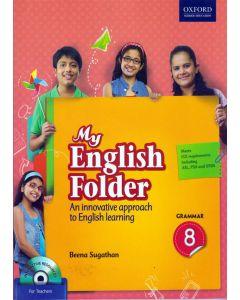 My English Folder Grammar Class - 8