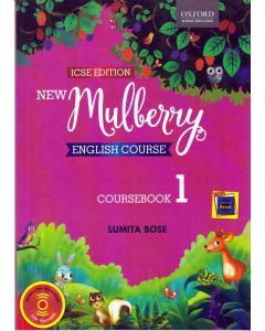 ICSE New Mulberry English Course Book Class - 1