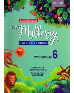 ICSE New Mulberry English Work Book - 6