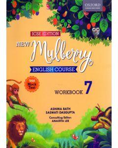 ICSE New Mulberry English Work Book - 7