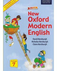ICSE New Oxford Modern English Work Book - 7