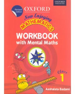 New Enjoying Mathematics Work Book with Mental Maths Class - 1