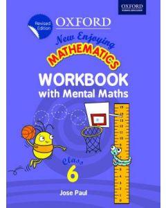 New Enjoying Mathematics Work Book with Mental Maths Class - 6