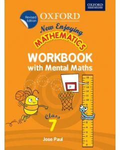 New Enjoying Mathematics Work Book with Mental Maths Class - 7