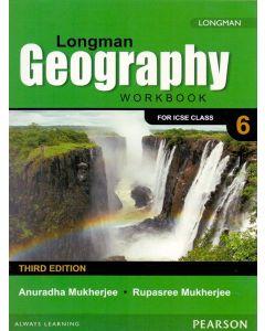 ICSE Longman Geography Work Book Class - 6