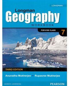 ICSE Longman Geography Work Book Class - 7