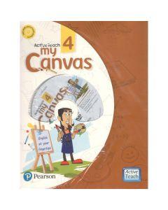ActiveTeach My Canvas Textbook for Class 4