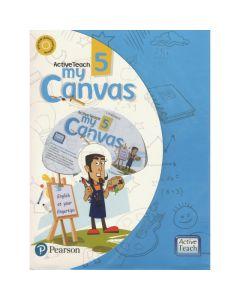 ActiveTeach My Canvas Textbook for Class 5