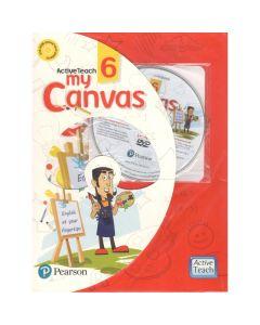 ActiveTeach My Canvas Textbook for Class 6