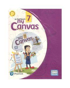 ActiveTeach My Canvas Textbook for Class 7