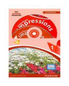 ActiveTeach Impressions English Textbook 1