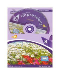 ActiveTeach Impressions English Textbook 8