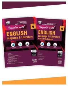 ogether With English Language and Literature (study material) + Pullout worksheet (Practice Material) for Class 9 for 2020 CBSE Exam