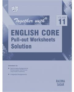 Together With English Language & Literature Pull-out Worksheets Solution for Class 11