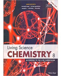 ICSE Living Science Chemistry 8