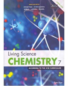 ICSE Living Science Chemistry Workbook 7