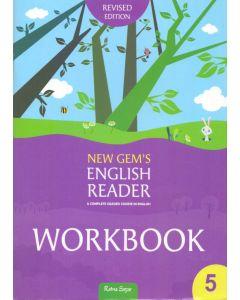 New Gem's English Reader Workbook 5 2018 Edition