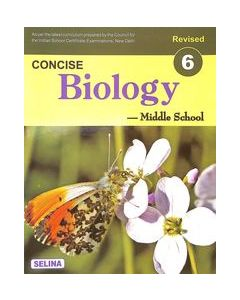 Concise Biology Middle School Class 6: Icse