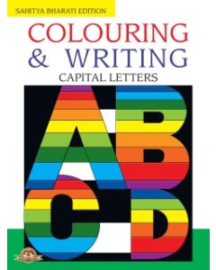 Colouring And Writing Capital Letters