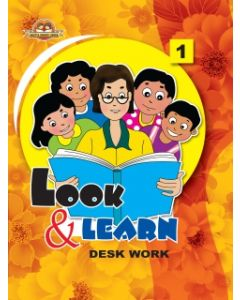 Look And Learn [Deskwork] Book -1
