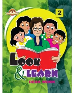 Look And Learn [Deskwork] Book -2