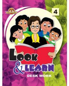 Look And Learn [Deskwork] Book -4