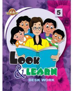 Look And Learn [Deskwork] Book -5